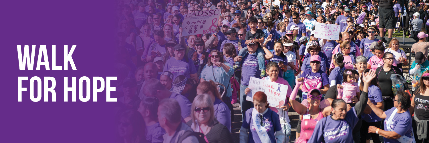 walk for hope crowd