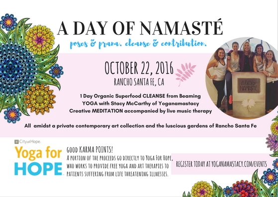 A Day of Namaste